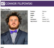 Albany lacrosse players flash bold style in wacky headshots