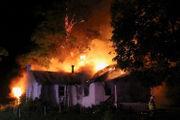WATCH: Fire destroys home in Warren County