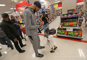 Anthony Davis of New Orleans Pelicans hosts shopping spree for kids: photos