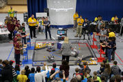 Middle schoolers launch lunar rovers at Jackson robotics event