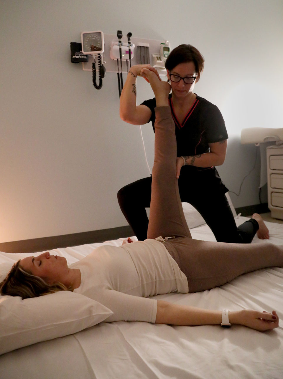 Thai yoga massage offers drug-free pain relief, available at