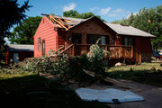 Tornadoes slam central Iowa, causing injuries and major damage