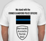 'Former' Blandford Police selling T-shirts to highlight cause