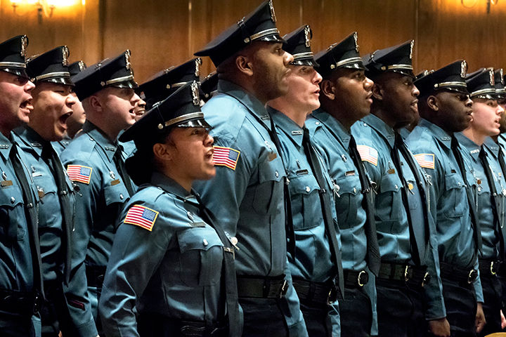 State swears in 147 new corrections officers (VIDEO)