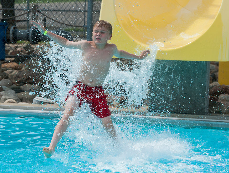 Photos as Nixon Water Park in Jackson opens for the season.