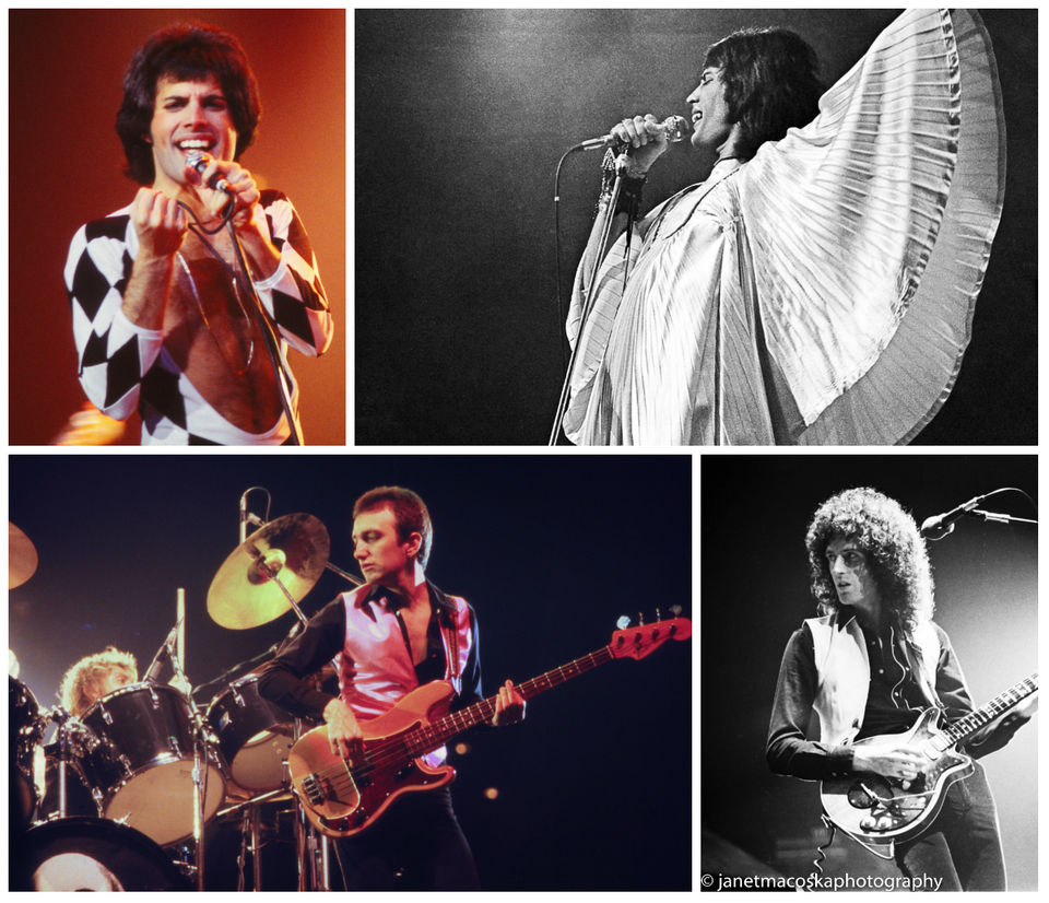 Queen and Freddie Mercury in Cleveland: Concert photos from 1970s from rock photographer Janet Macoska