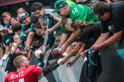 Philadelphia Eagles practice observations: 35,000 attend open session at Lincoln Financial Field