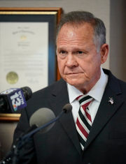 Roy Moore files complaints claiming 'political conspiracy' targeted his Senate run