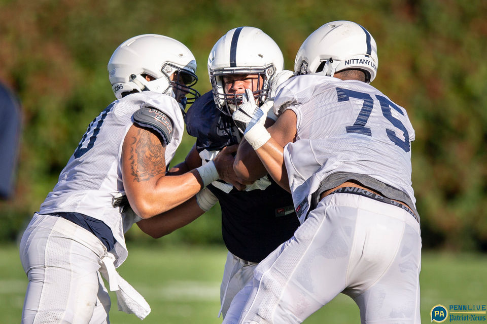 Penn State practice scenes from Oct. 3, 2018