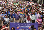 Staten Islanders take part in NYC Pride March 2018