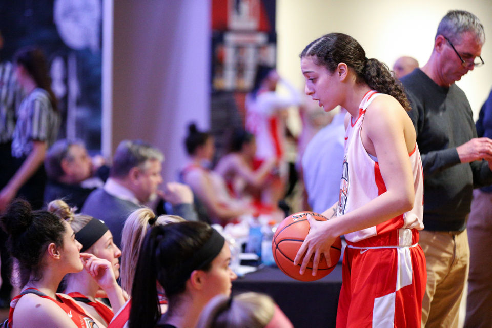 b925cf6c4fc5 Hall of Fame WMass Girls Basketball All-Star game  White Team defeats Red  Team