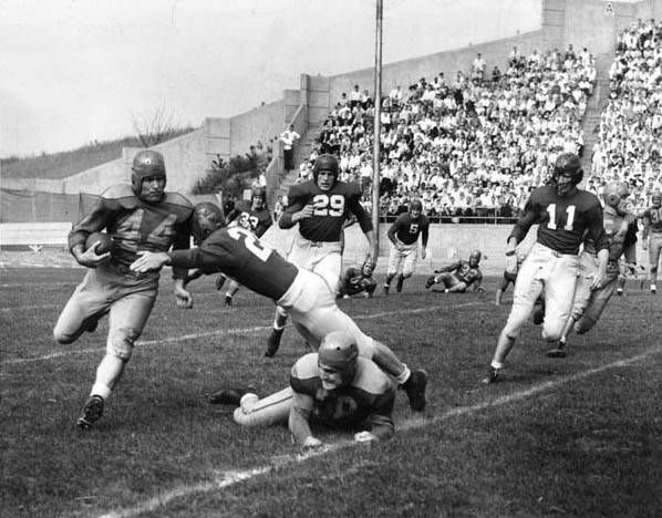 20 old Cleveland Rams photos to remind you the Super Bowl-bound franchise began here