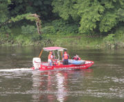 Delaware River search for canoeist hampered by storms (PHOTOS)