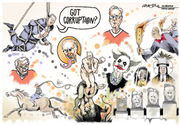Rogues' gallery: 100 Alabama caricatures of corruption