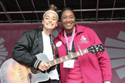 Seen@ 2018 Rays of Hope Walk & Run Toward the Cure of Breast Cancer