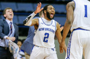 Last-second shot sinks UNO basketball in CBI quarterfinal against Campbell