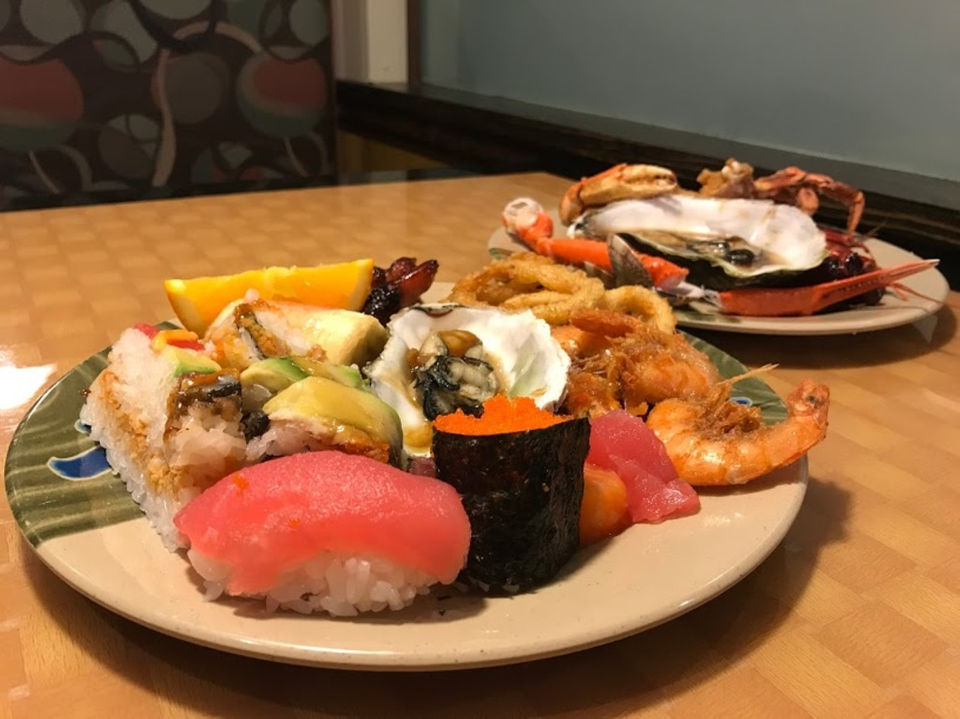 portland s bargain buffets ranked from ok to great oregonlive com rh expo oregonlive com all you can eat sushi buffet portland oregon all you can eat seafood buffet portland oregon