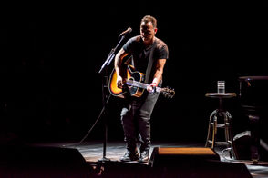 """After 14 months, three extensions and an unprecedented amount of fanfare, """"Springsteen On Broadway"""" will draw its final curtain Saturday night at the Walter Kerr Theatre in New York. If you're a true Boss fan, chances are you've either seen the show, tried to score tickets and failed or at least heard all about it from one of your diehard friends. But you probably haven't delved into the numbers surrounding this epic run, which make """"Springsteen On Broadway"""" the most successful one-man show in Broadway's history and likely the most lucrative single live stretch of Springsteen's prolific career. As the record-breaking show comes to a close and the Netflix version gets set to air Sunday (starting at 3:01 a.m. EST), let's take a deep dive into this shows exorbitant stats and realize just how titanic of a commercial success """"Springsteen On Broadway"""" truly was. (Financial data provided by Playbill.)"""