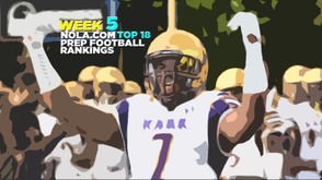 There were few upsets this past week, but there still are quite of season surprises as we head into the midway point of the regular season. Take a look at Jim Derry's Top 18 for Week 5: