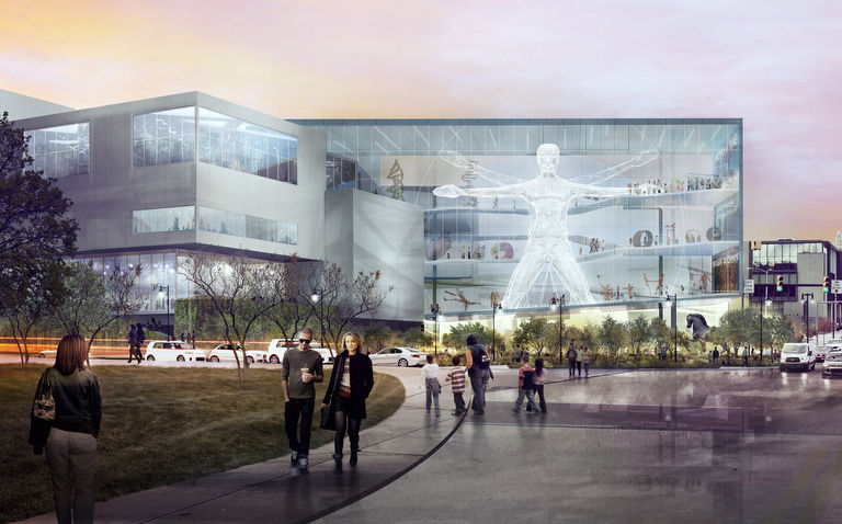 Here is the master plan for the $150M Da Vinci Science City proposal
