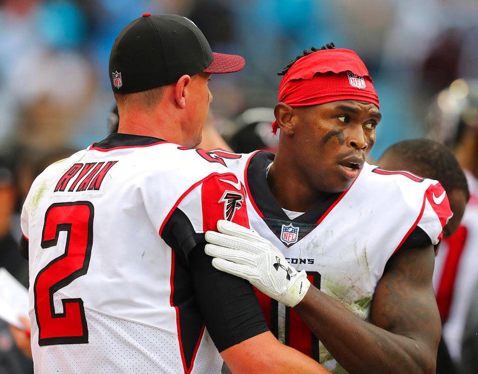 Matt Ryan ready to get to work with Julio Jones in Falcons' offseason program
