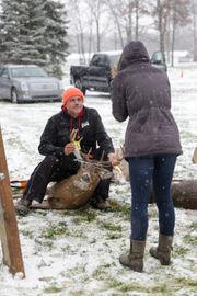 Hillsdale County deer hunters hang 'em at Jerome County Market