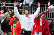Was Ohio State's 2012 team the best team with a bowl ban in history? Buckeye Breakfast