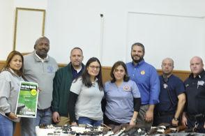 The Hudson County Prosecutor's Office brought back the Gun Buy Back Program.