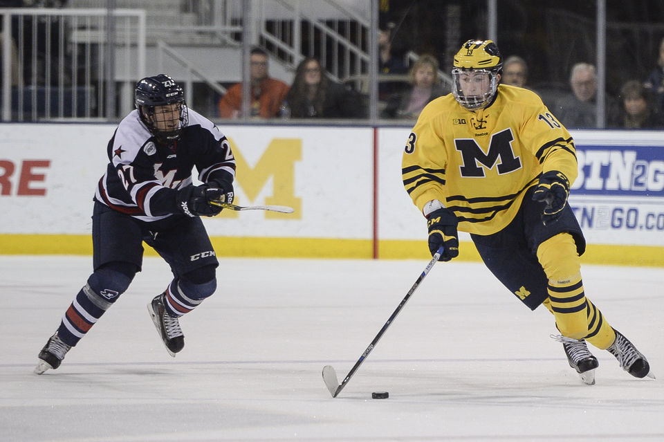 best website 50e3d f9e9d Michigan hockey's past 20 NCAA Tournament appearances ...