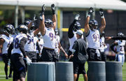 For Baltimore Ravens, caution is key during extended training camp: Morning rundown