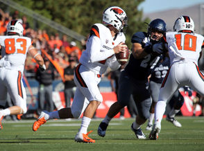 The Oregon State Beavers visit the Nevada Wolf Pack for a college football matchup in Reno.