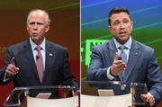 A small room and few sparks in Donovan-Grimm debate (commentary)