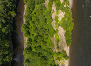 See a bird's-eye view of Getter's Island, now for sale in Easton
