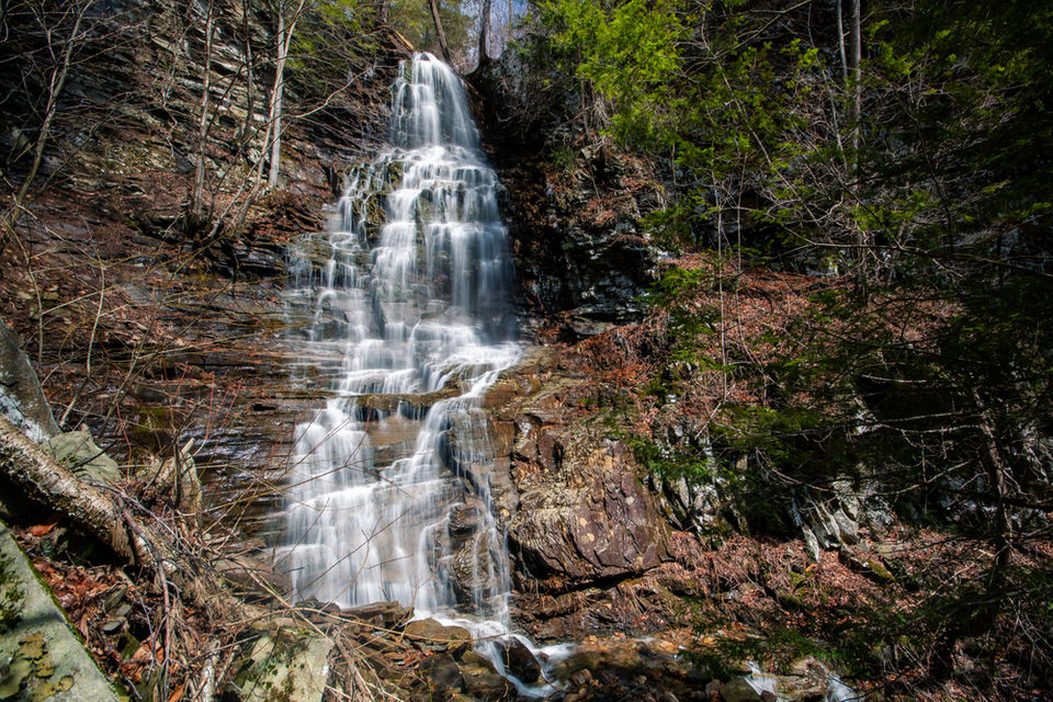 10 more Pa  waterfalls you should see this spring | PennLive com