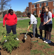 Sacred Heart School holds first Arbor Day Assembly