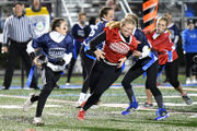 Nazareth area kids grant wishes, honor first responders with powderpuff game (PHOTOS)