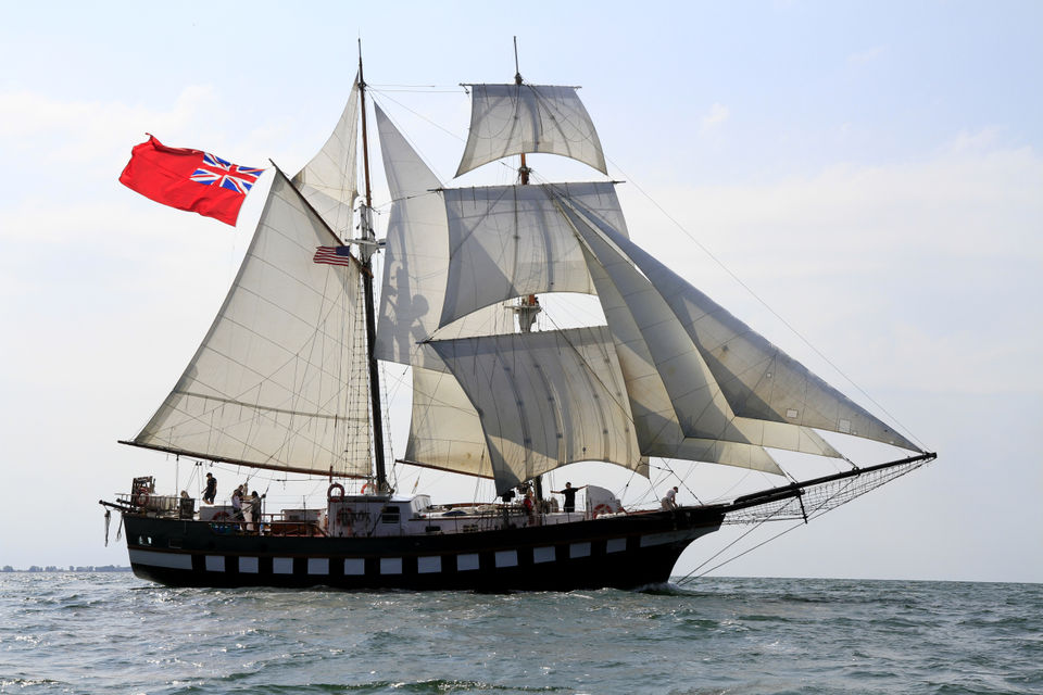 Fair Jeanne built as private yacht: Tall Ships Cleveland Countdown Week 4