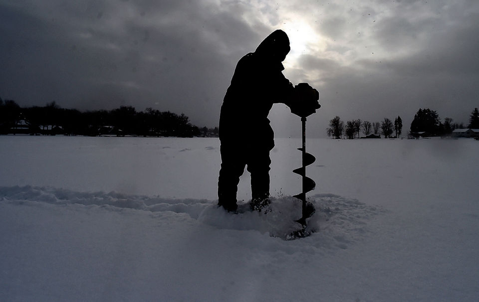 Upstate Ny Ice Fishing Scene Gets A Fast Solid Start
