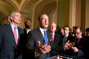 Move to cut health care mandate fires up Senate war of words