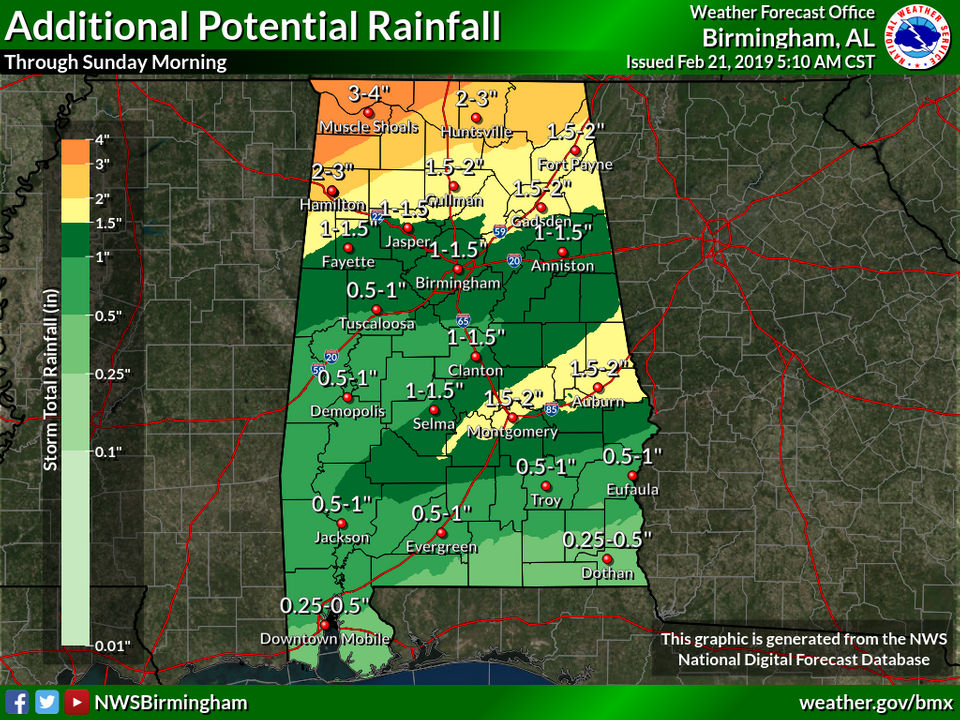 Flood threat continues today; watching Saturday for potential severe weather