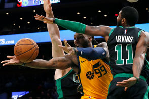 BOSTON --The Boston Celtics followed up Friday's big win with a disappointing performance against the Utah Jazz, falling 98-86. Here are 10 things we saw.
