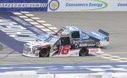 Bold last-lap pass decides photo finish in NASCAR MIS race