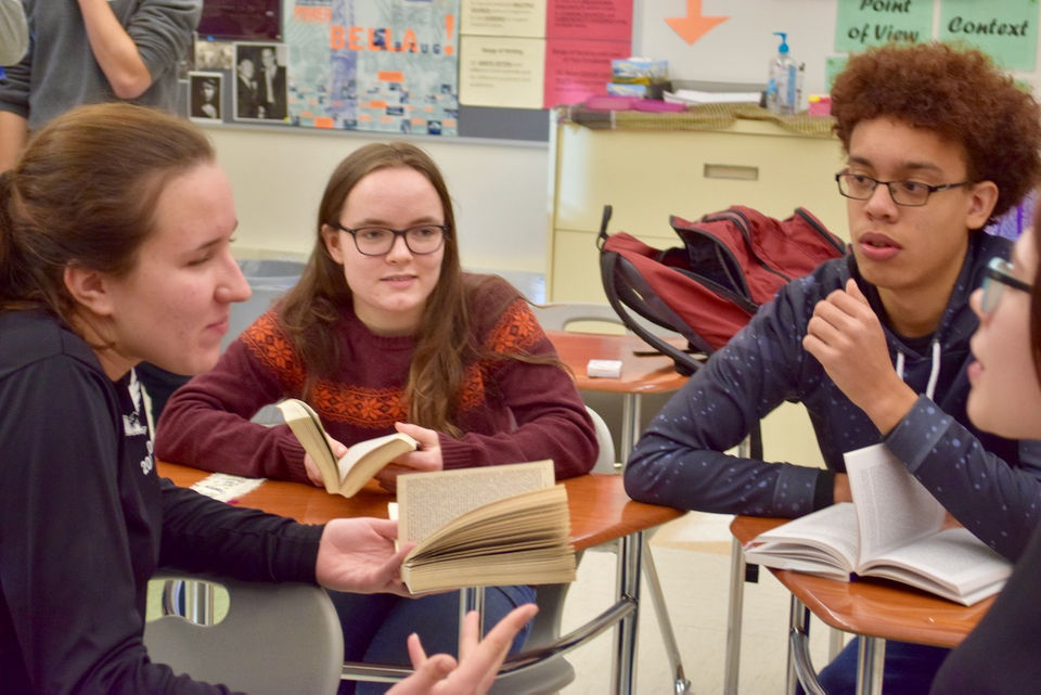 Easthampton High School students win statewide 'We the People' competition