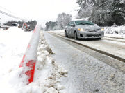 Winter storm causes icy roads across swath of South: See photos