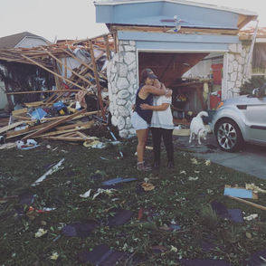 images from Panama City, 24 hours after Hurricane Michael made landfall over the city.