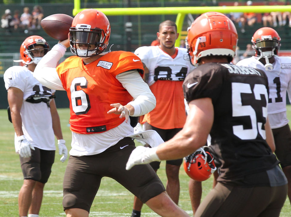Grading Baker Mayfield: He finds his stride with Odell Beckham Jr. on Day 7 of Browns camp