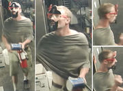 Man in pirate mask -- including fake eye patch and parrot -- robs Cornelius business, deputies say