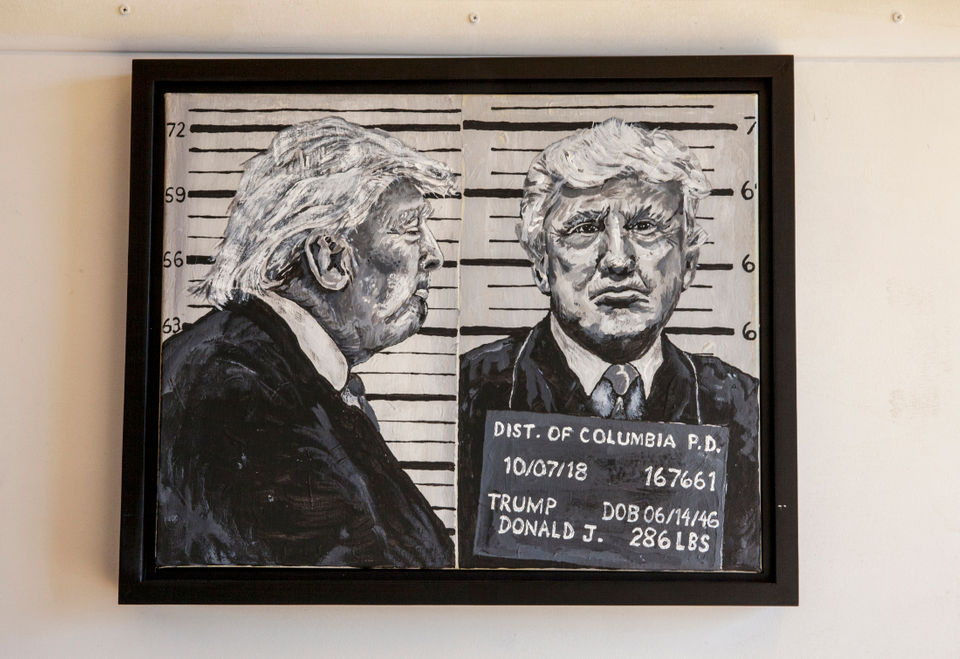 Presidential portrait' and other politically charged