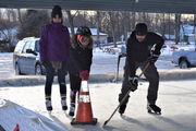 Skaters brave cold at new Slate Belt outdoor ice skating rink