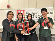 Novi High School wins 4 of 5 divisions of Japanese Quiz Bowl